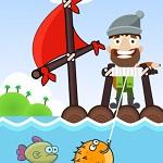 صياد السمك السعيد